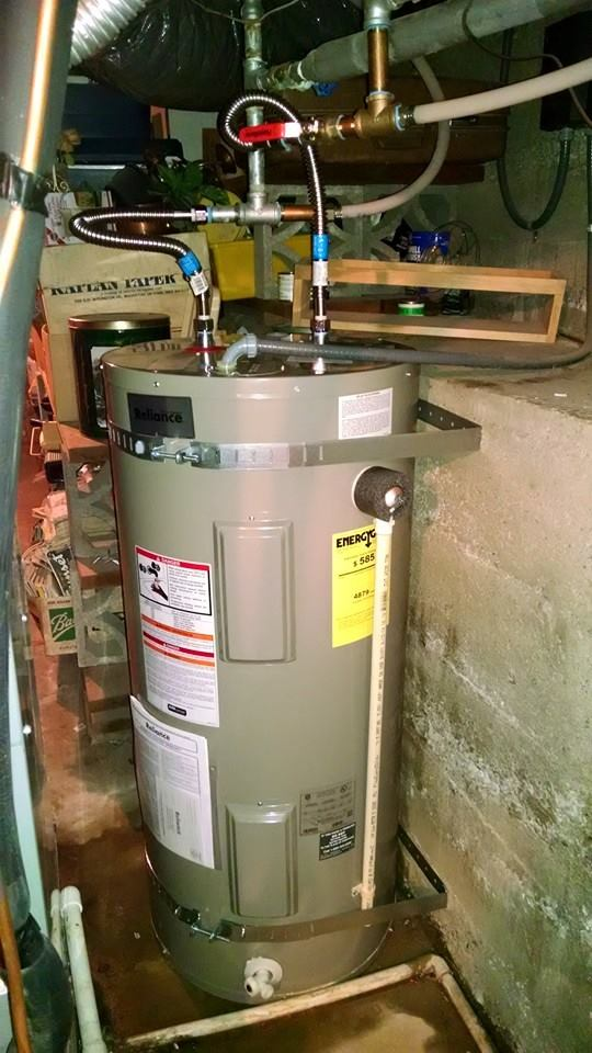 Water Heater After