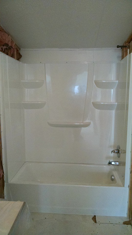 Shower Remodel After