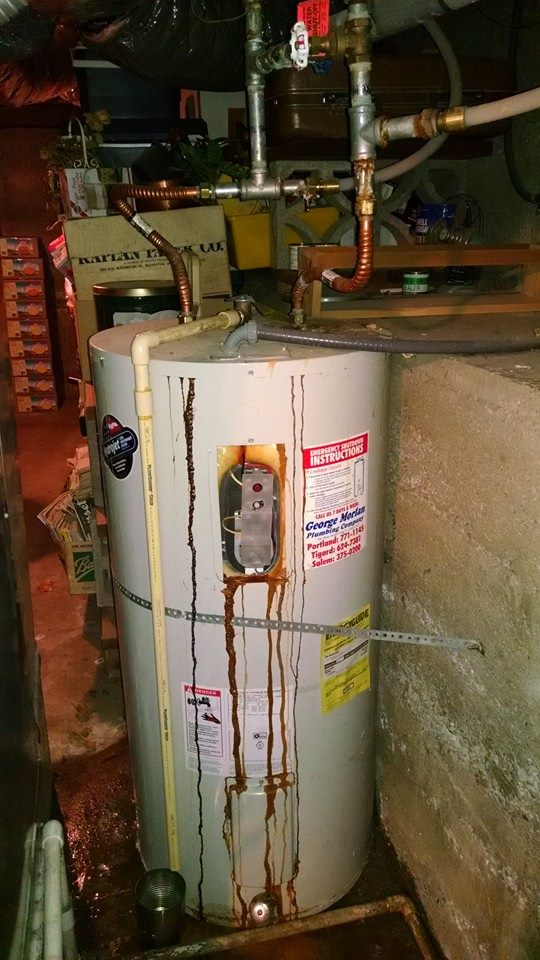 Water Heater Before